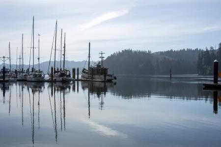 Florence, Oregon, Boat Docks