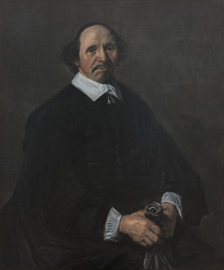 Frans (I) Hals (1582/83-1666): Portrait of a Man, C. 1655-60, kms3847