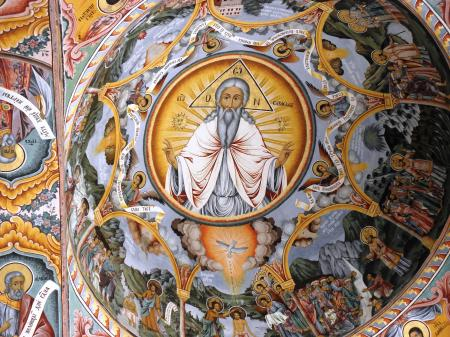 Frescoes from Rila monastery