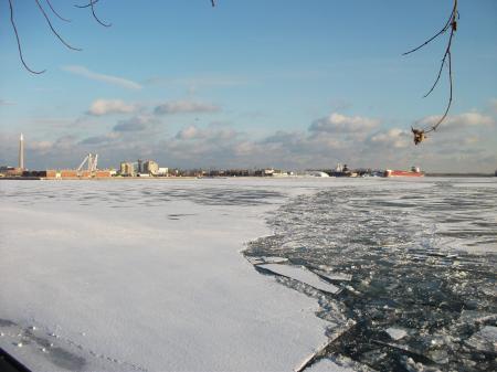 Frozen Toronto harbour, 2018 01 17 -ae