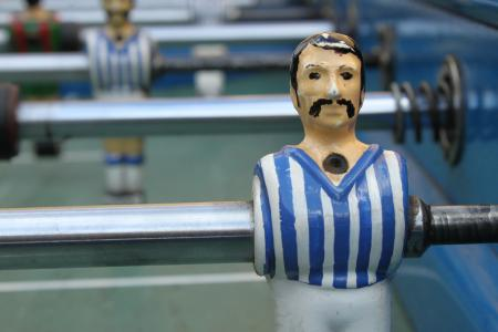 Fussball table players