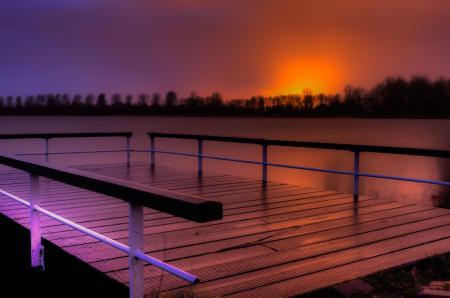 Sunset at Zeepromenade