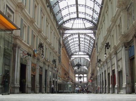 Genova-Galleria-Liguria-Italy - Creative Commons by gnuckx