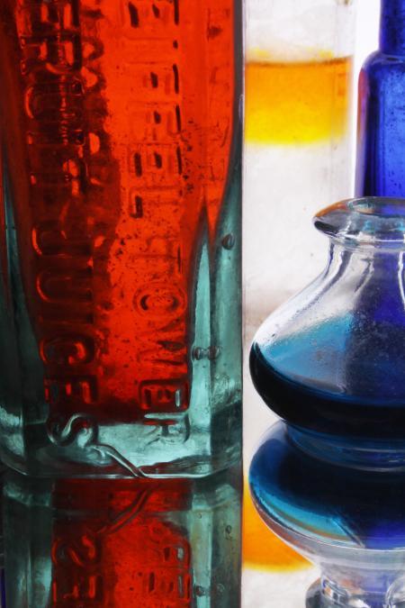 Glass and liquids