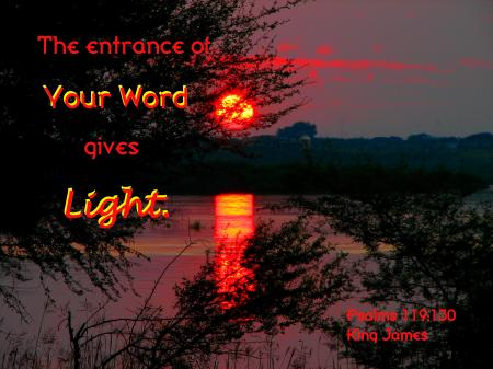God's Word Gives Light