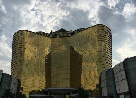 Golden Building in China