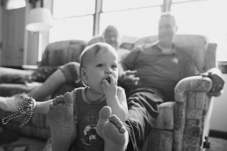 Grandson the photographer