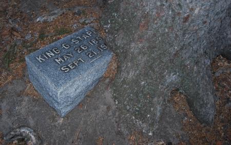 Graveyard soil texture