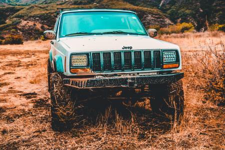 Gray Jeep Suv