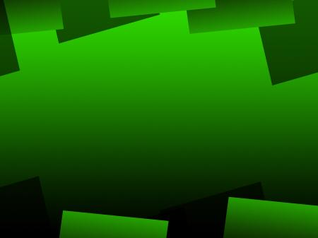Green Geometric Background Means Digital Art Pattern