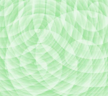 Green swirls light