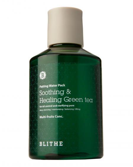 Green tea splash