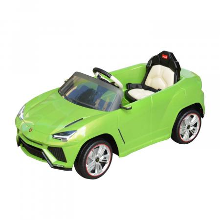 Green toy car