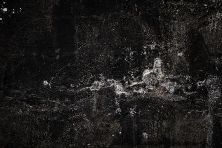 Grunge Black Wall Background