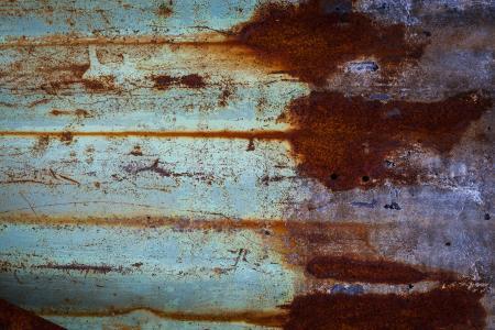 Grunge Rusted Metal Sheet