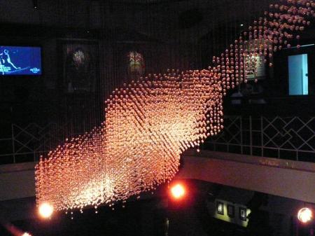 Guitar chandelier