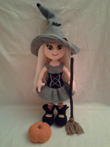 Handmade Witch Doll