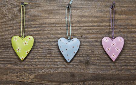 Heart Shape Made on Wood