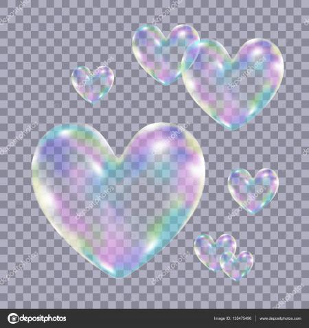 Heart Soap Bubbles
