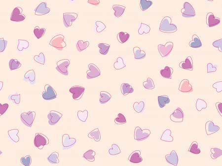 Hearts Background Pattern