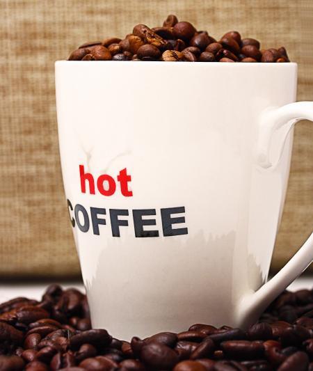 Hot Coffee For A Relaxing Break