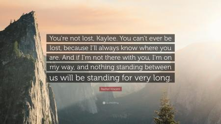 I'm Not Lost, I'm With You