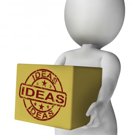 Ideas Box Means Inspire Innovate And Plan