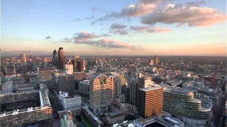 Tall City Buildings