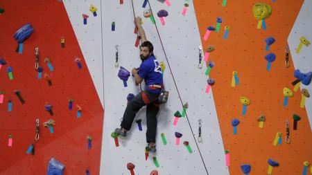 Indoor climber