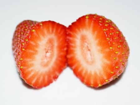 Inside of a Strawberry