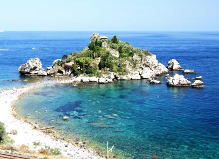 Isola Bella-Taormina-Messina-Sicilia-Italy- Creative Commons by gnuckx