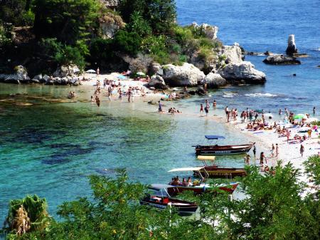 Isola Bella-Taormina-Messina-Sicilia-Italy Creative Commons by gnuckx