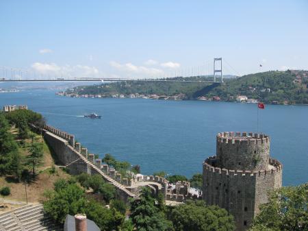 Istanbul-Bosphorus and fortress -Rumeli