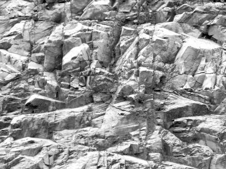 Jagged Rockface Background