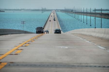 Keys Islands Interstate, Florida, Januar