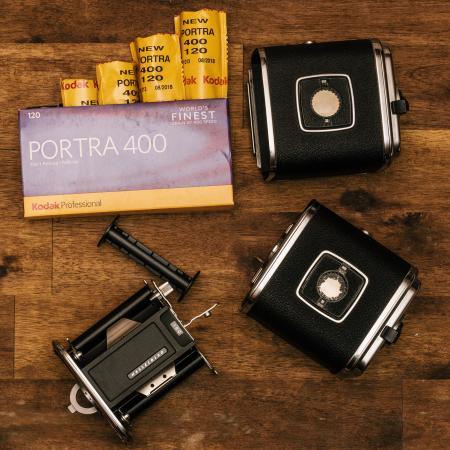 Kodak Porta 400 With Black Cases