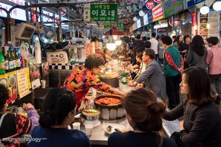 Korean Market Stand