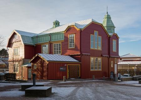 Kungstorgskyrkan in winter