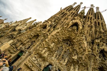 La Sagrada Familia (Front)