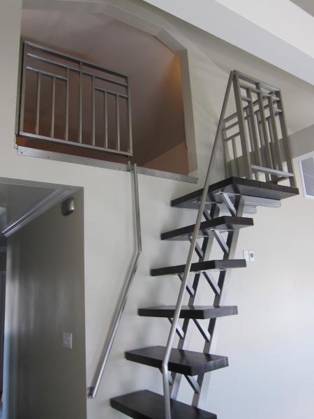Ladder and Stairs