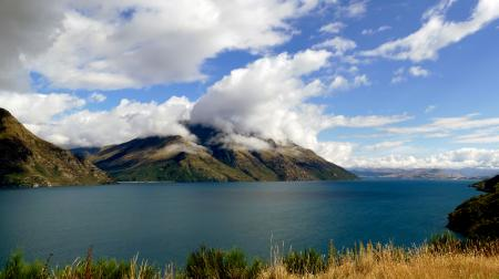 Lake Wakatipu. NZ