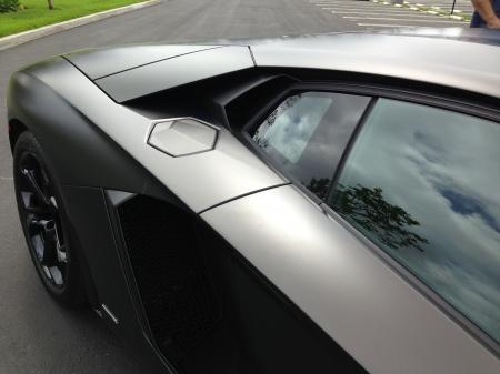Lamborghini fuel cap