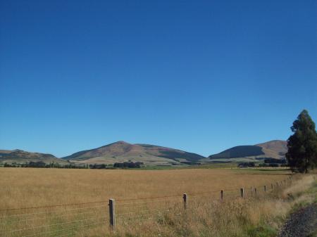 Landscape approaching Clinton - Kuriwao