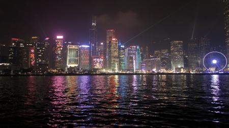 Laser Show Hong Kong River