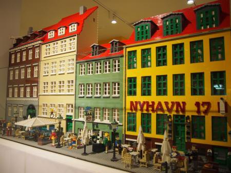 Lego Buildings Copenhagen, Denmark