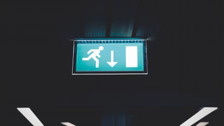 Lighted Running Signage