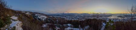Linken snow view panorama