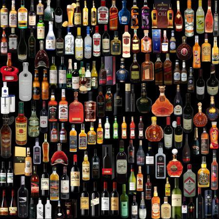 Lot of drinks