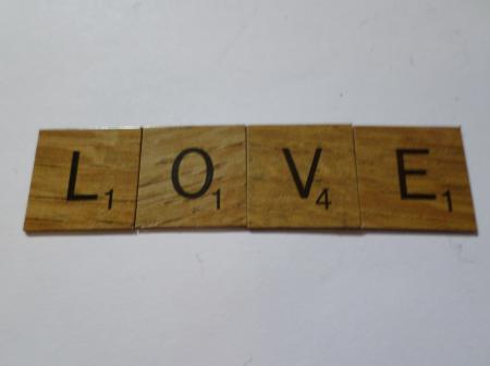 Love scrabble style tiles
