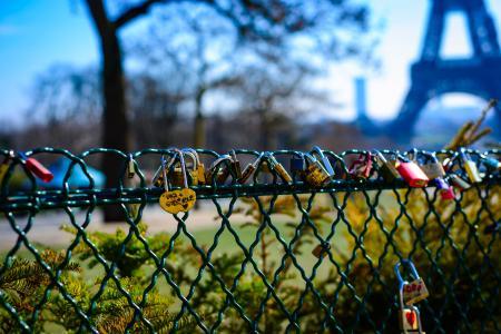 Macro Photography of Love Keys